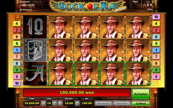book of ra deluxe casino