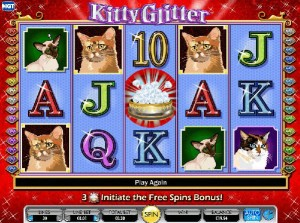 kitty glitter spel